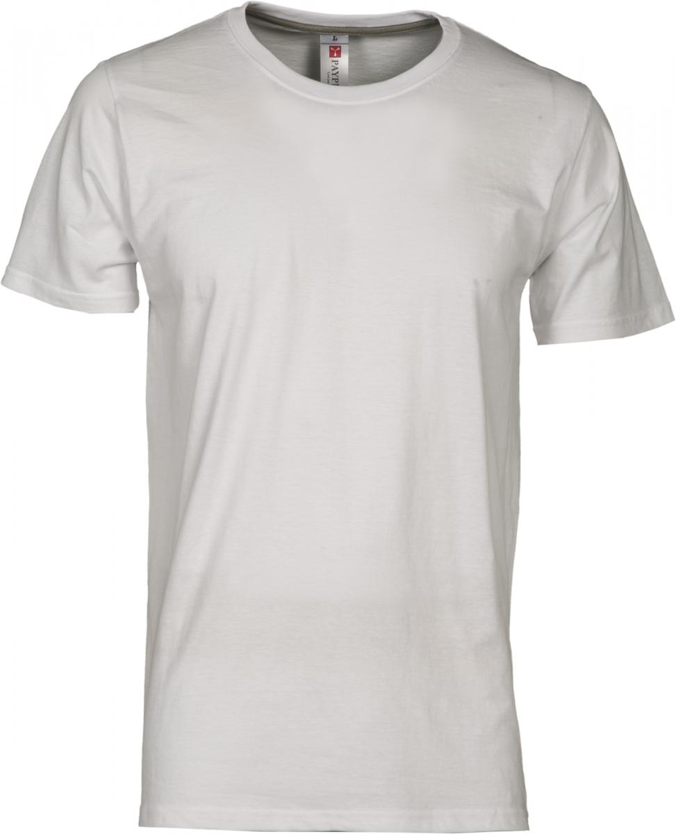 Tričko PAYPER SUNRISE bílá S - reklamní trička 6932611883