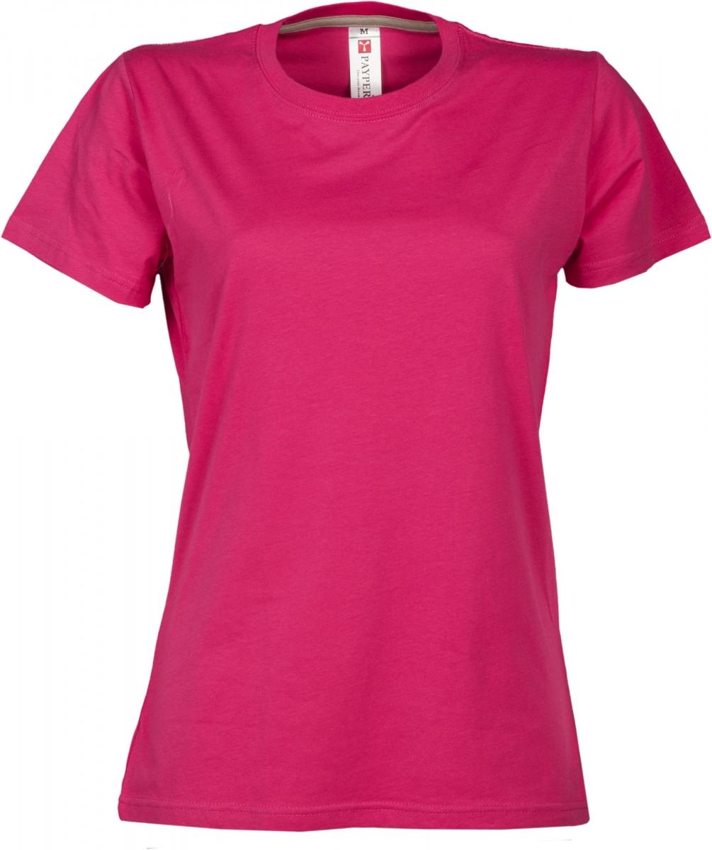 Dámské tričko PAYPER SUNRISE LADY růžová S - reklamní trička 9228652e65
