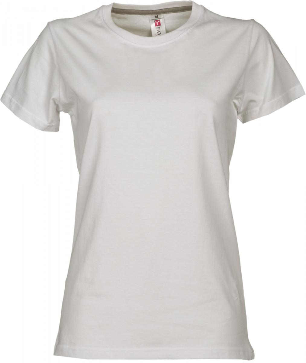 Dámské tričko PAYPER SUNRISE LADY bílá S - reklamní trička 1379300ca7