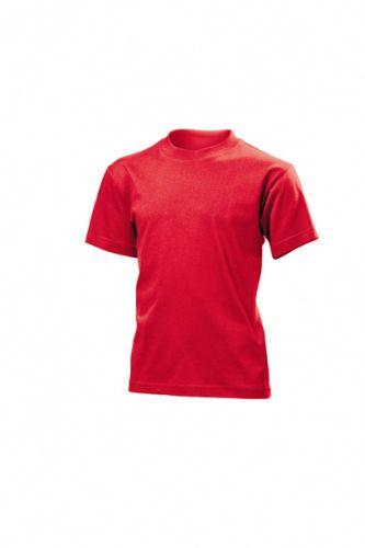 Tričko STEDMAN CLASSIC JUNIOR barva červená XS - reklamní trička b9193a1223