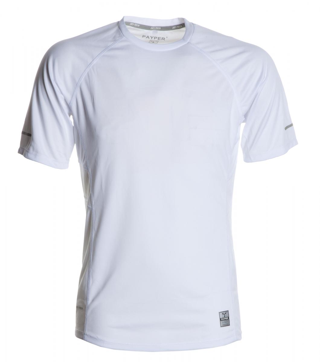 Funkční tričko PAYPER RUNNING bílá S - reklamní trička 6336100e3d