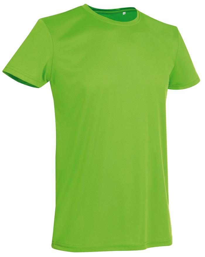 Tričko STEDMAN ACTIVE SPORTS-T MEN jasně zelená XXL - reklamní trička e65ac738e3