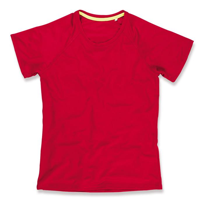 Funkční tričko STEDMAN ACTIVE 140 RAGLAN WOMEN červená S - reklamní trička c713559679