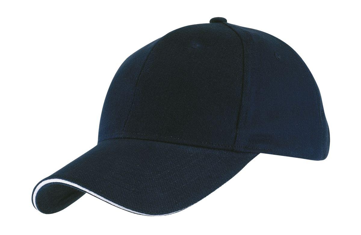 GILES kšiltovka námořní modrá - reklamní čepice 61acef0a8b