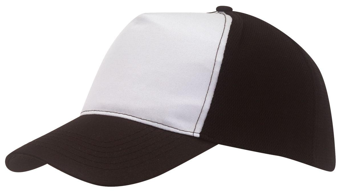 Pětipanelová kšiltovka s bílým předním panelem 04c5ee30b8
