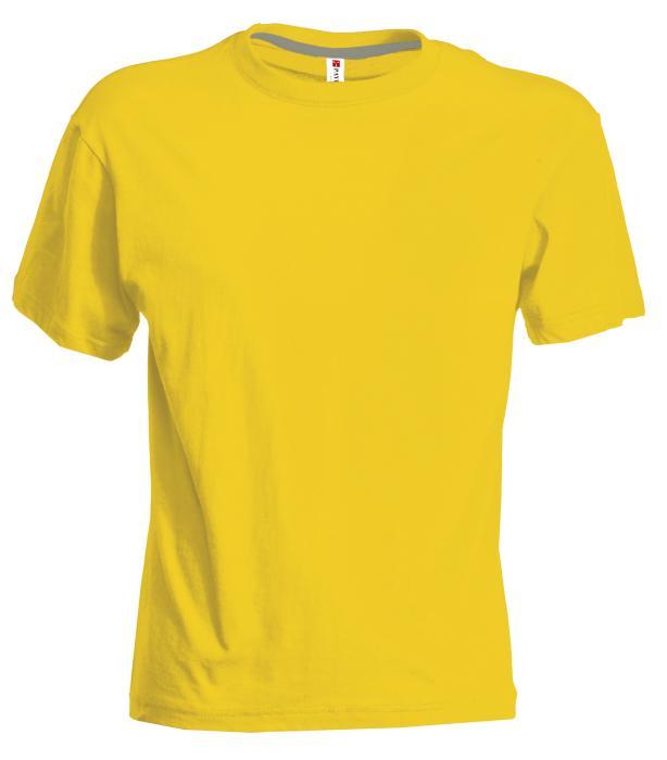 Tričko PAYPER SUNSET žlutá S - reklamní trička 5d96628abb