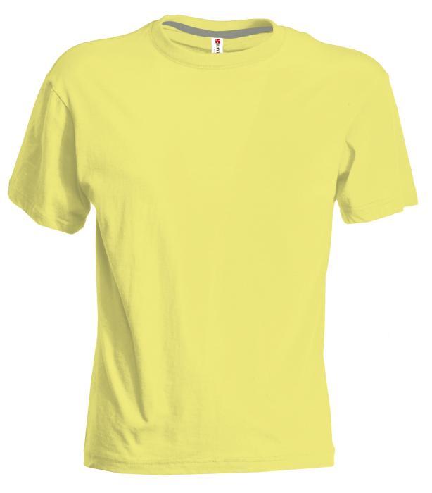 Tričko PAYPER SUNSET světle žlutá XXL - reklamní trička 4f19b83562