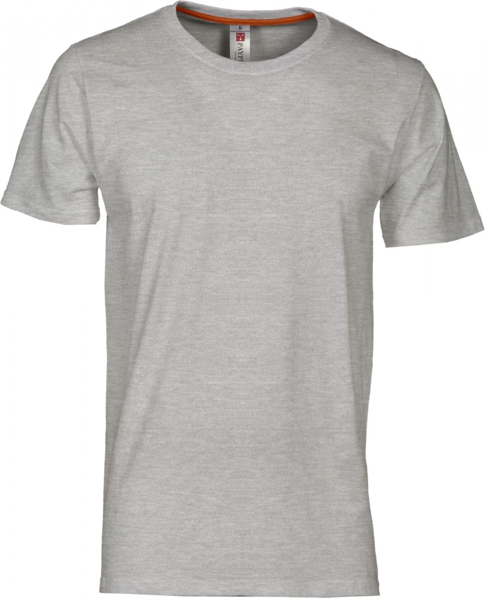 Tričko PAYPER SUNRISE šedý melír S - reklamní trička 2e035e0ddd