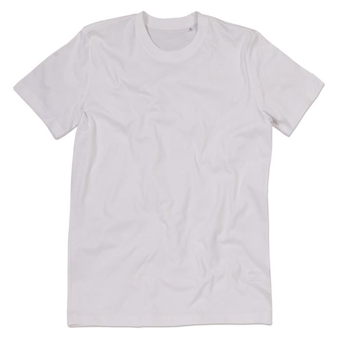 Tričko STEDMAN STARS JAMES CREW NECK bílá L - reklamní trička cd85780326