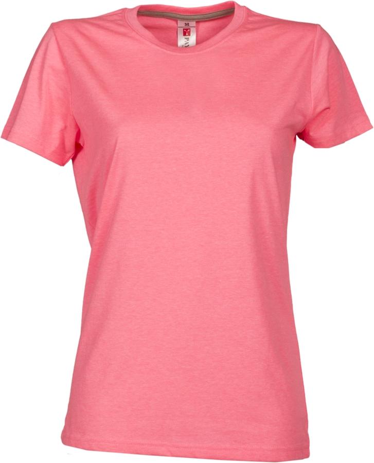 Tričko PAYPER SUNSET LADY reflexní růžová XL - reklamní trička c77db58157
