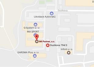 Reklamní předměty Brno - mapa