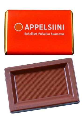 reklamní čokoláda